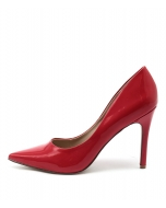 HAROLD RED PATENT SYNTHETIC