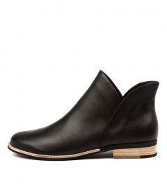 Aframe Black Black Leather
