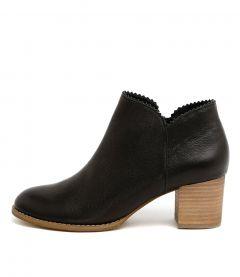 Sharon Black Leather