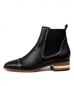 Ferras Black Natural Heel Leather