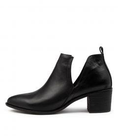 Hentons Black Leather