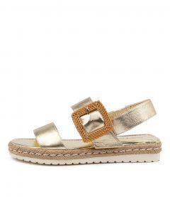 SILAS DJ PALE GOLD LEATHER
