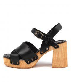 Combi Black Leather