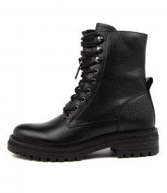 Manny Black Leather