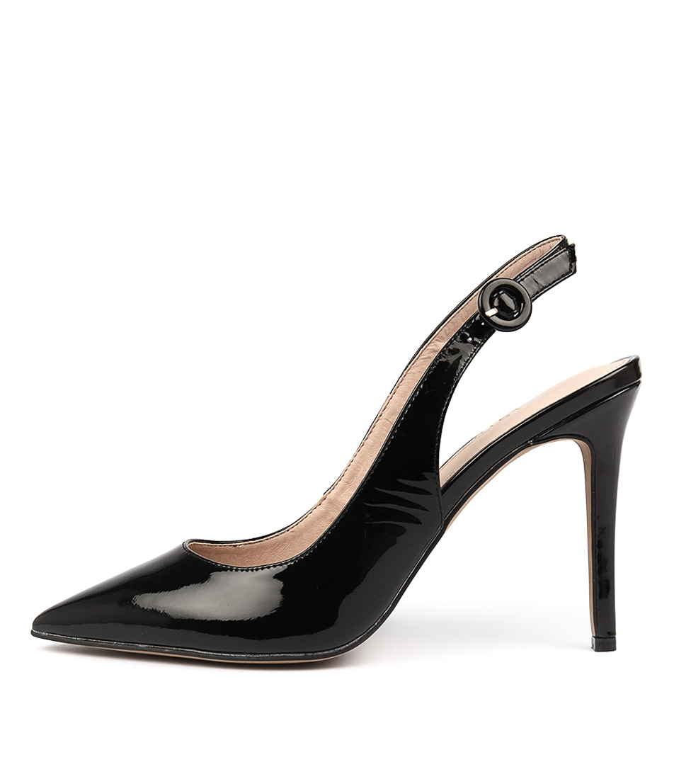 1d2e1a11f79 BEBE SI BLACK PATENT LEATHER by SIREN - at Wanted