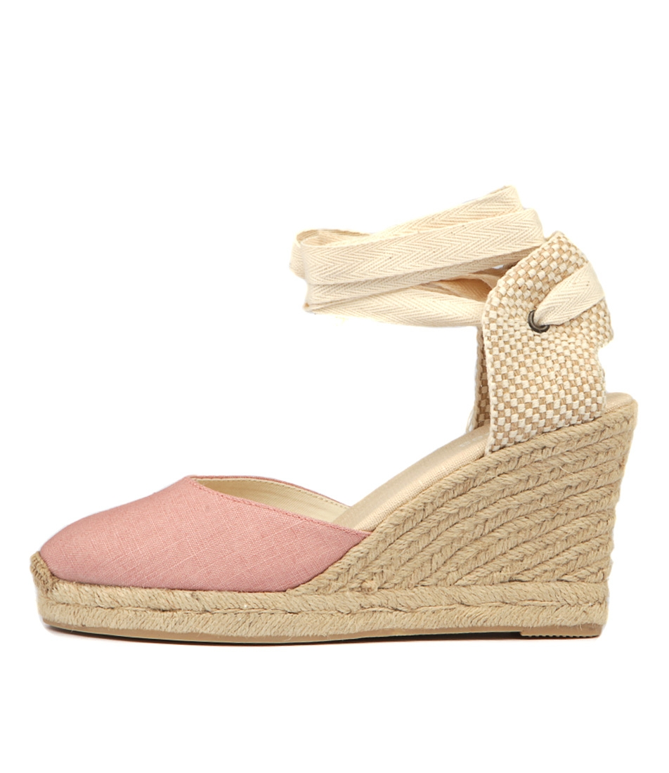 69ee1e0407a TALL WEDGE LT PINK LINEN by SOLUDOS - at Wanted