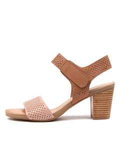 TOBI DF BLUSH TAN LEATHER