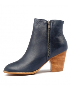 ROBYS W NAVY LEATHER