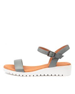MARYLEE STEEL WHITE SOL LEATHER