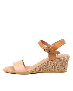BROOK DJ NUDE TAN LEATHER