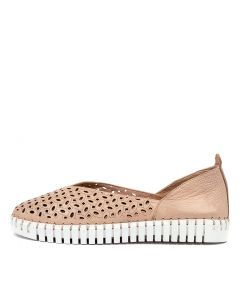 HELMER DJ NUDE WHITE SOLE LEATHER