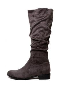 1da235ee3b07 I LOVE BILLY lirama charcoal microsuede