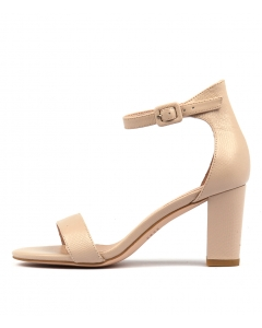 GESSIE NUDE LIZARD LEATHER