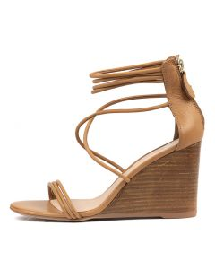 EDRA TAN NATURAL HEEL LEATHER