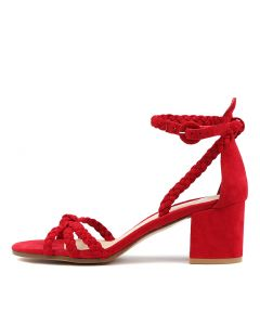 RAXEIRA RED SUEDE
