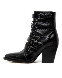 MALIYAH BLACK LEATHER