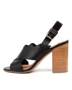OSTONE MO BLACK NATURAL HEEL LEATHER