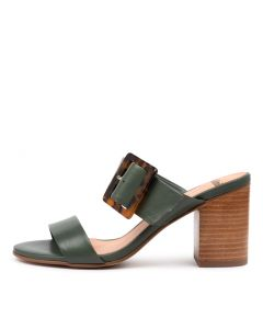 ALLANA MO DEEP GREEN LEATHER
