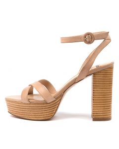 ANNA MO NUDE NATURAL HEEL LEATHER