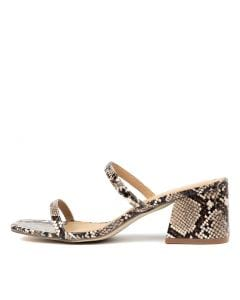 GOLDIE TAUPE SNAKE SMOOTH