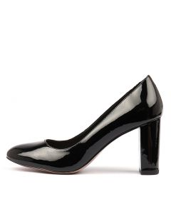 MONACO BLACK PATENT LEATHER