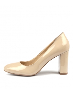 MONACO NUDE PATENT LEATHER