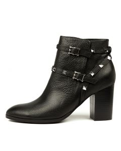 ARELI BLACK BLACK HEEL LEATHER