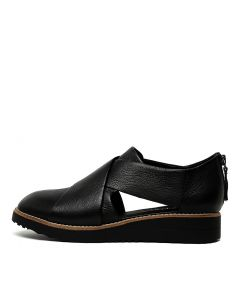 OTHO BLACK BLACK SOLE LEATHER