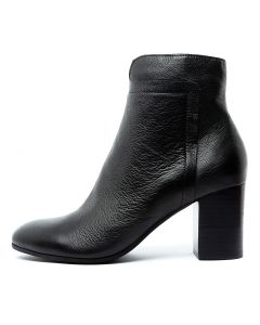URARANA BLACK BLACK HEEL LEATHER