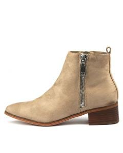 HUNTER TR TAUPE MICROSUEDE