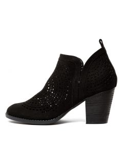 FELIX VE BLACK MICROSUEDE