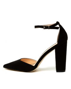 99e493454df ARLETTE VE BLACK MICROSUEDE