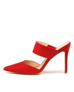 HARKELL VE RED MICROSUEDE