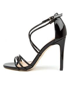 LIANA VE BLACK PATENT SYNTHETIC