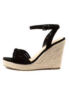 AMY BLACK MICROSUEDE